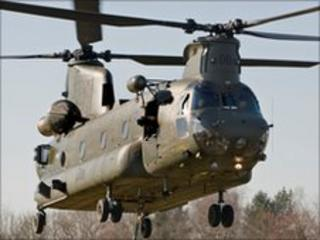 Chinook on recent visit to Shawbury (pic: RAF)