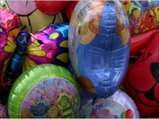 File photograph of balloons