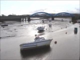 Tidal stretch of River Clwyd