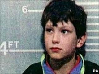 Police handout in 1993 of Jon Venables