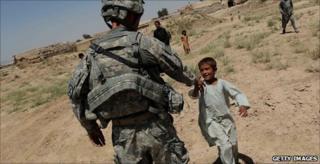 US patrols in Kandahar Province