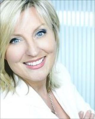 UTV presenter Lynda Bryans
