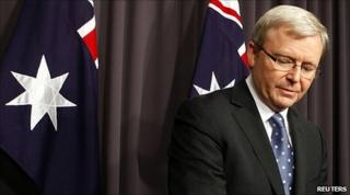 Kevin Rudd announces the leadership contest (23 June 2010)