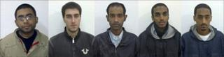 From left: Waqir Hussain Khan, Ramys (Ramy) Zamzam, Umar Farooq, Ahmad Abdulminni, Aman Hasan Yamer