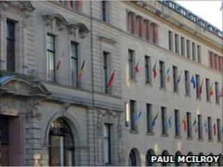 Council buildings. Pic Copyright Paul McIlroy and licensed for reuse under Creative Commons Licence