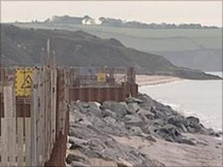 Carlyon Bay sea defences