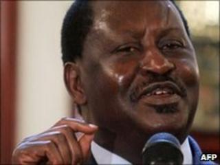Raila Odinga (file photo, May 2010)