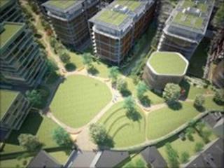 Chelsea Barracks design