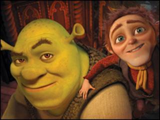 Shrek still (Dreamworks)