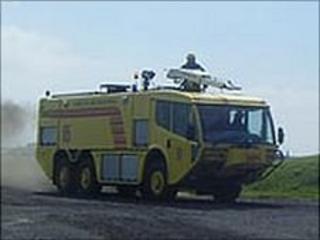 Guernsey Airport fire appliance