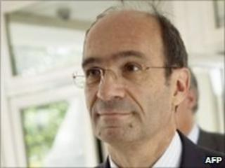 French Labour Minister Eric Woerth - 30 June 2010