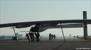 The HB-SIA aeroplane (Solar Impulse)