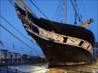 Restored SS Great Britain