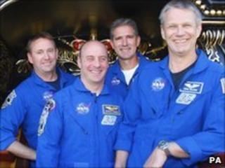 Atlantis astronauts