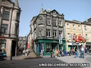 Dunfermline/Pic: Undiscovered Scotland