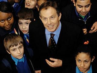 Blair launching BSF