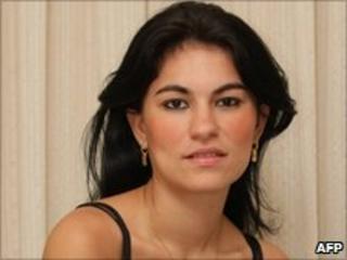 Eliza Samudio in August 2009