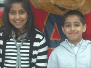 Alina and Aman Shah