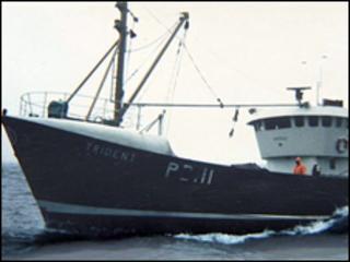 The trawler Trident