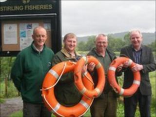 Stirling Council fisheries service