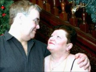 Pete and Margaret Williams of Shotton, Flintshire