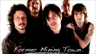 Promotional image for tribute single Former Mining Town