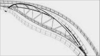 New bridge over Cam