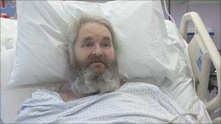 Martin Bullock, patient at Royal Berkshire Hospital