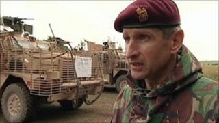 Brigadier James Chiswell MC