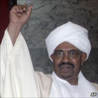President Omar al-Bashir (file photo 27 May 2010)