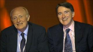 Lord Kinnock and Lord Mandelson