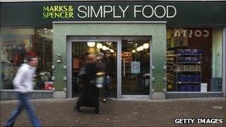 Marks & Spencer food store