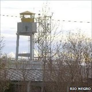 Unidad Penal guard tower