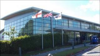 Guernsey Post's headquarters