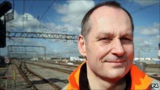 Iain Croucher, Network Rail chief executive