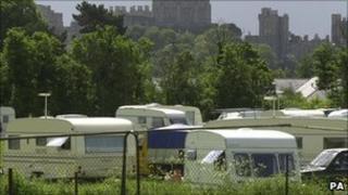 Generic travellers' camp