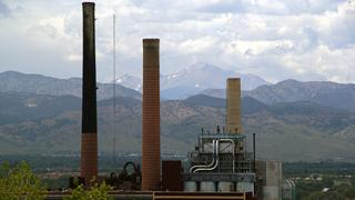 Boulder, Colorado power plant