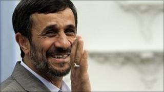 Mahmoud Ahmadinejad (file image)
