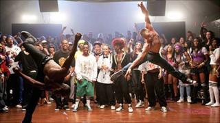A scene from Streetdance 3D