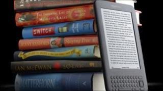 The Kindle e-reader