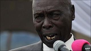 Ex-President Daniel arap Moi