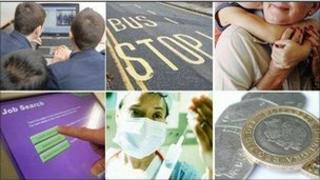 composite picture of public services
