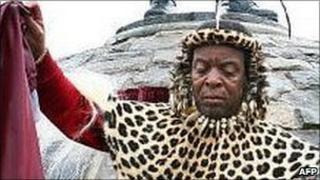Zulu King Goodwill Zwelithini , file image
