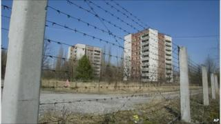 The ghost town of Pripyat, built to house workers of the Chernobyl nuclear power plant (Image: AP)