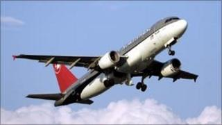 Northwest Airlines aircraft
