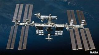 The International Space Station (Nasa image from February 2010)