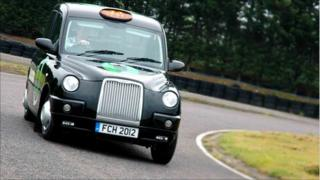 Hydrogen fuel cell powered taxi