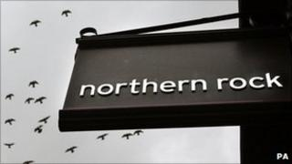 Northern Rock branch sign