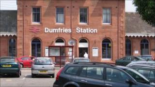 Dumfries railway station