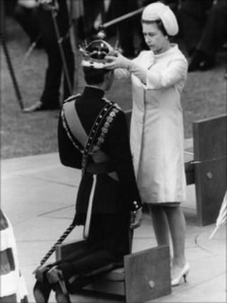 Prince Charles' investiture as Prince of Wales